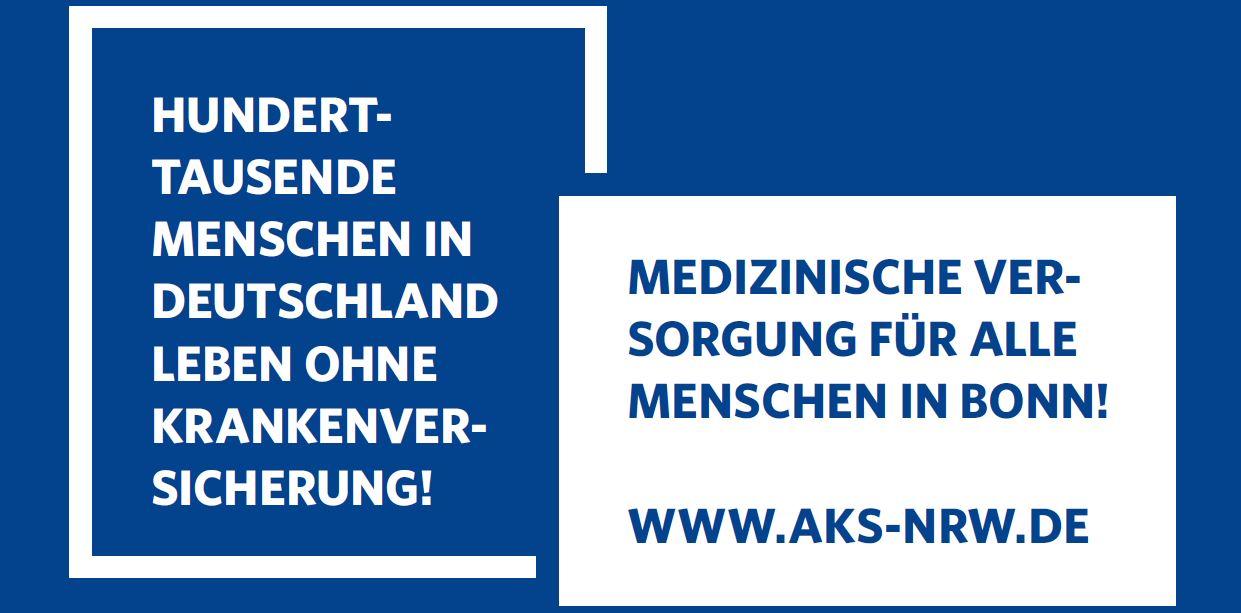Medizinische Versorgung für alle Menschen in Bonn