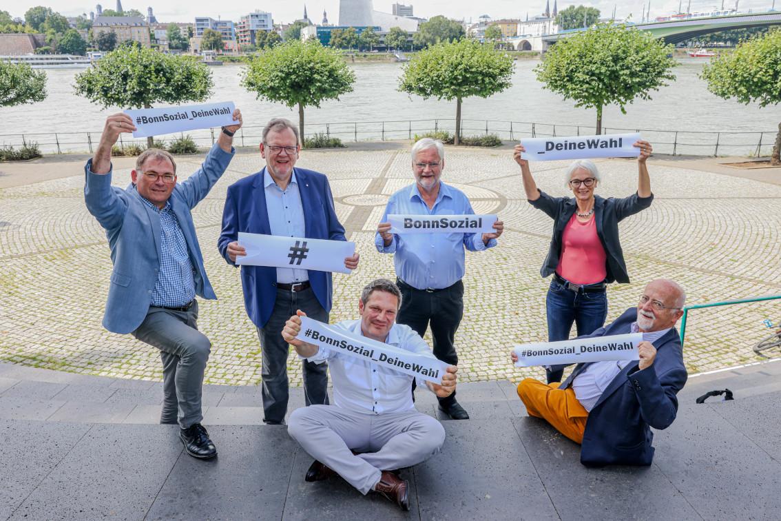 Vertreter:in der AGW zur Kampagne #BonnSozial_DeineWahl